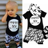 T-shirt in cotone neonato per neonato T-shirt in cotone + pantaloni