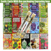 New Engraving Exotic Carts Mario Vape Cartridges Box Packagi...