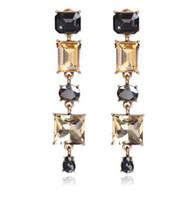 도매 chaming r 다이아몬드 크리스탈 저렴한 가격 고품질 2pcs / lots 여자의 earings 7.46uu
