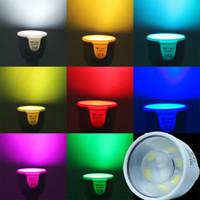 Haute luminosité MILIGHT 5W 12V CCT RGBW blanc chaud GU10 LED spot ampoule Wifi télécommande 450LM