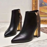 Brand Retro Ultra Ankle Boots Leather Womens Designers Shoes...