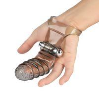 Finger Sleeve Vibromasseur point G Bullet Vibro clitoridiens stimulation Clit Vibromasseur Adult Sex Produits Femme Masturbation