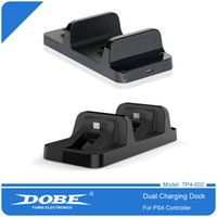 Wireless DOBE USB Dual Charger Dock Station Game Controllers for PS4 Wireless Controller Controller Bluetooth Game DHL Free Shipping