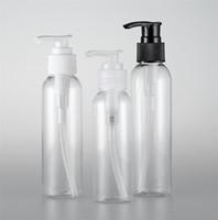 Transparent Rund Schulterflaschen Schraubenspindelpumpe Kosmetik-Flaschen Tragbare Easy Press Praktische Sauberkeit vorrätig 0 97py a29