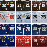 NCAA DEION SANDERS Jersey Franco Harris Jerome Bettis Bruce Smith Kurt Warner Jerry Rice Joe Montana Sean Taylor Mark Bavaro Emmitt Smith