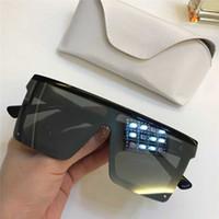 موضة جديدة نظارات بدون إطار المبيعات مربع كبيرة سيامي عدسة 1008 أعلى جودة بسيطة النمط الشعبي نظارات حماية UV400