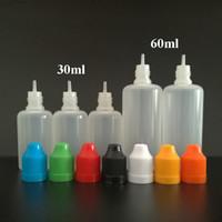 1150pcs 60ml Plastik Damlalık şişeler çocukların açamayacağı Cap ve Uzun İnce İpuçları, EMS ücretsiz gönderim Yumuşak Boş şişeler İğne Şişe PE