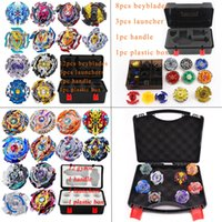 Spin Tops Beyblade Burst Set Giocattoli Arena Bayblade Metal Fusion 4d con Launcher Beyblade Spinning Top Bey Blade Blades Giocattoli J190427