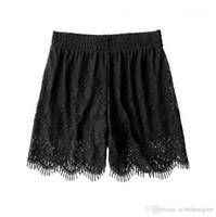 Dentelle Leggings en vrac solide Couleur Heigh Wait Underwaer Robes évider Mode Vêtements Femmes Casual Summer Designer