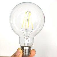 2700K G95 Vintage alte Art E27 LED energiesparende Kugel-Glühlampe 8W Jahrgang Finament Glas Licht Dimmbare