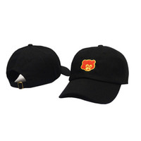 Moda-Pembe Ayı Baba Şapka Cap Tan Kanye West Mezuniyet Koleji Bırakma gerçek arkadaşlar Beyzbol şapkası Hip Hop Snapback şapka drakes