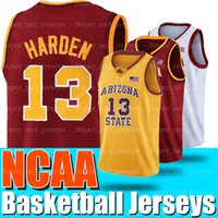 NCAA 13 JAMES Jerseys Harden Russell 0 Westbrook Arizona Universidad Estatal Sun Devils UCLA University of California