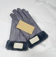 Модные женские фирменные перчатки для зимних и осенних кашемировых варежек Перчатки с прекрасным меховым шариком Спорт на открытом воздухе теплые зимние перчатки