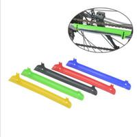 Yol Bisikleti MTB Dağ Bisikleti Çerçeve Zinciri kal Yayınlanan Koruyucu Zincir kalmak plastik Guard Kapak Bisiklet Aksesuarları H210701