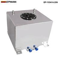 Epman Universale da 20 litri del carburante del serbatoio del combustibile del serbatoio del vaso dell'alluminio dell'alluminio dell'alluminio EP-YX9414-20N ha in magazzino