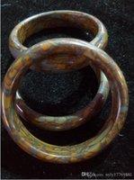 Cina Shennong pollo prugna braccialetto di giada c26 1 grado giada diametro 56-60mm un cagor reale giada Z278