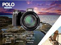 2019 Yeni PROTAX POLO D7300 Dijital Kamera 33MP FULL HD 1080P 24X Pptical Yakınlaştırma Otomatik Odak Profesyonel Kamera 1PCS DHL Kargo