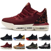 High Quality Athletic 16 Basketball Shoes Men Black White Me...
