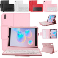 Bluetooth capa para Samsung Galaxy Tab S6 10,5 polegadas SM-T860 SM-T865 2019 teclado sem fio padrão Tampa Litchi PU flip Stand Case