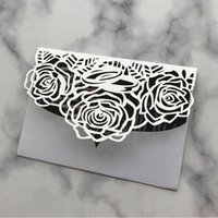 30pcs Wedding Invitation Card Sweet Girl Theme Parte Impegni Sposare Celebrazione Business Meeting Inviti Pearl Carta biglietti d'invito