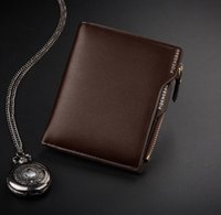 2019 Vintage brand Wallet men leather men wallets purse shor...