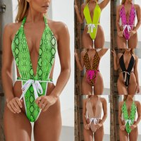 sexy woman Bikini swim wear one piece bandage swimsuit bikin...