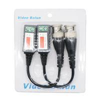 EDISON2011 Cámara CCTV BNC CAT5 Video Balun Transceptor Cable BNC A Transmisor de cable de red con embalaje para cámara CCTV