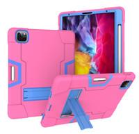 iPad6 / AIR2 9.7inch 디자이너 럭셔리 클래식 아이 패드 케이스 수비수 방수 실리콘 갑옷 태블릿 PC 브라켓 경우에