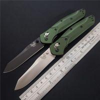 """Classic Benchmade Osborne Coltello pieghevole 3.4 """"S30V lama esterna Campeggio Tactical Green Pocket alluminio 3300 BM940 BM42 EDC MT Strumento mano"""