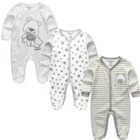 145db96ec Baby Girl Clothes Ropa Bebe Full Sleeve Boy Infantil Costume 2019 Newborn  Body Baby Romper Clothing Kid Toddler Pajamas Vestidos J190514