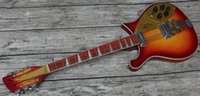 RIC 660 12 Strings Tom Petty Fire Glo Sunburst Electric Guit...