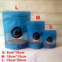 3.5G 7G 28G والأزرق الكوكيز L M S زيبر رائحة حقائب والدليل على تغليف الوقوف الحقائب الجاف عشب الطفل وظيفة الدليل