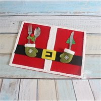 Christmas Table Mat Coaster Fashion Christmas Decorations fo...