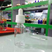 800pcs 5ml 10ml 15ml de vidro Dropper Bottles 30ml Transparente E Líquido Garrafa Vazia Com Borracha tampa de vidro da tubulação