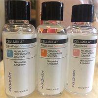 Aqua Peeling Solution 50ml por garrafa Hydra Dermaabrasão Facial Serum Serum Limpeza para cuidados normais de cuidados com a pele
