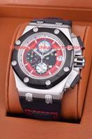 6 Art-heiße Verkaufs-Qualität 42mm Offshore 226.078 26078IO.OO.D001VS.01 Lederbänder VK Quartz Chronograph Workin Herren-Uhr-Uhren