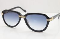 Venta directa de fábrica Unisex 1991 Original 113125 Mujeres Gafas de sol gafas de sol Importar tablones Gafas diseñador Gafas de sol Tamaño del marco: 54-18-135mm