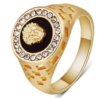 Diamond Ring Li Em Ele Ad Anel de Men Anel de presente do dia Europa e América Anéis Ava Tar Man Ma Sk dos Namorados