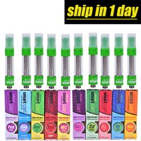 new Smart Carts Green Vape Cartridges 1. 0ml Glass Tank 510 C...