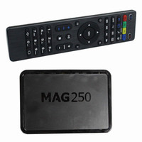 Sistema Linux MAG MAG 250 Set Top Box MAG250 de streaming de cine en casa Sysytem Linux TV Box Media Player Igual que MAG322