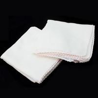 10pcs / lot Karree Typ Baumwolle Gesichtsreinigung Mulltuch Makeup Remover GesichtsExfoliator Refresh Haut Handtuch