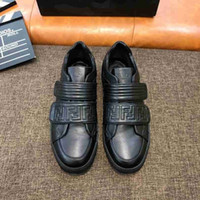 New recommended men' s casual shoes imported leather fac...
