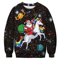2020 Weihnachten Hoodie 3D Lustige Männer Frauen Mode Sweatshirts Street Hip Hop Pullover Hoody Damen Herren unisex Hoddies Tier Printed 048