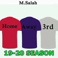 6f782357d59 MANE Top quality 19 20 M. SALAH Home Soccer Jersey Adult man .