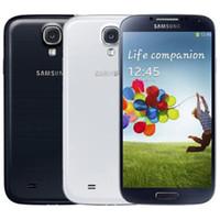 Original recondicionado Samsung Galaxy S4 I9500 I9505 3G 4G LTE Rede 5.0 polegadas Quad Núcleo 2GB RAM 16GB ROM 13MP Desbloqueado Telefone DHL 10PCS