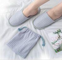 Neue Einfache Hausschuhe Männer Frauen Hotel Reise Spa Tragbare Falten Haus Einweg Home Guest Hausschuhe Große Größe Schuhe