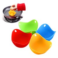 Eco- friendly silicone egg- Boiler egg poacher tool non- toxic...