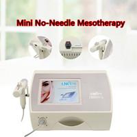 Neue förderung Mini keine nadelfrei Mesotherapie Gerät Elektroporation Mini Keine Nadel Mesotherapie Schnelles Verschiffen CE / DHL