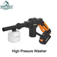 12 V Yüksek Basınçlı Araba Yıkama Taşınabilir Akülü Temizleyici Şarjlı Kendinden emişli Çamaşır Makinesi Elektrikli Temizlik ABD Plug