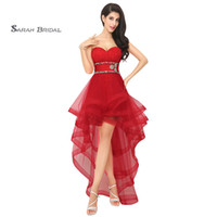 Generous A- Line Homecoming Dress Sweetheart With Lace Up Cry...